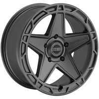 "4-Centerline 844SC Hammer 17x9 6x135 +0mm Gunmetal Wheels Rims 17"" Inch"