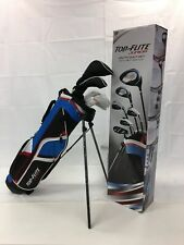boy Top Flite Kids' Junior set Golf Clubs (Ages 9-12) Bag LEFT HAND TFK0010