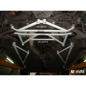 FOR SUBARU IMPREZA GC8/WRX/Forester Front Lower Bar / Front Member Brace 4Points