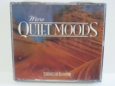 MORE QUIET MOODS ~ CLASSICS FOR RELAXATION ~ TIME LIFE ~1998 ~ NEW ~ 3-CD SET