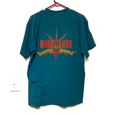 Vintage Quiksilver T-shirt Sz Large Surf Skate Made In USA Single Stitch 90s