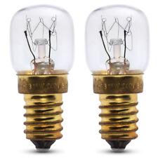 2x 15w Horno Lámpara para Samsung Horno 240v 300° CALOR resistente. SES (E14)