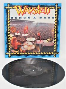 "WAYSTED 'Black & Blue' 1986 3-Track 12"" Vinyl Single on Parlophone A1/B1  - C94"
