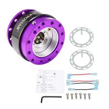 Purple Steering Wheel Quick Release Hub Adapter Snap Off Kit Universal Kyostar
