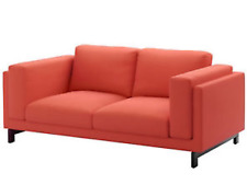 IKEA nockeby Remplacement Canapé 2 places Housse Set risane Orange 602.804.51