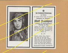 WWII German Death Card Sterbebild March 1945 Dievemnow Forest Luftwaffe TOP   A