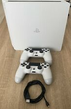 Sony PlayStation 4 Slim 500GB Glacier White Spielkonsole 2 Controller 6 Spiele