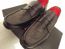 100% Leather Round Formal Jeffery~West Shoes for Men