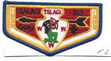 OA Lodge Tsalagi F2 Flap 1989 Anniv. Cherokee Council Merged 1994 [Y761]
