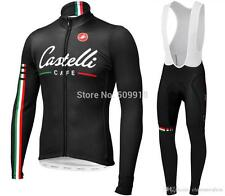 Castelli Long Sleeve Cycling Jersey & Trouser/Short Sets