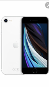 iPhone se 2020 apple 64gb white unlocked mobile phone a2296 2nd gen smartphone