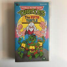 Teenage Mutant Hero Turtles The Fifth Turtle VHS Video Ninja Turtles Collectable