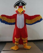 Parrot Mascot Cartoon Animal Costume Stage Cosplay Suit Adult Fancy Dress Parade