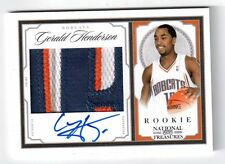 2009-10 GERALD HENDERSON National Treasures Rookie Auto Patch #64/99 4 Color RAP