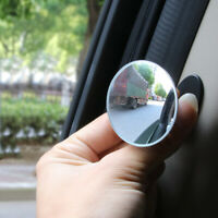 Car Auto Door 360° Blind Spot Side Mirror Stick On Glass Adjustable Safety Lens
