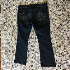 Kut from the Kloth Womens Jeans 14 Dark Blue Denim Natalie High Rise Bootcut