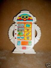 Vtg-90s-1996 Hasbro Alfie-Alphie Playskool Robot game-talk work