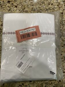 Pottery Barn Pearl Embroidered Sheet Set Queen Lavender *NEW*