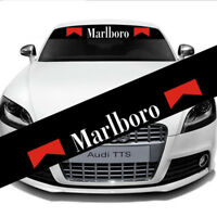 Car Front Windshield Banner Reflective Decal Window Glass Sticker For Marlboro