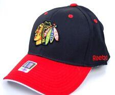 Chicago Blackhawks Reebok TZM13 Faceoff Senior Flex Fit Hockey Cap  L/XL