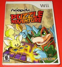 Neopets Puzzle Adventure Nintendo Wii *New! *Factory Sealed! *Free Shipping!