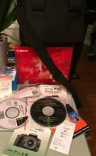 CANON EOS DIGITAL REBEL XTi Package - Camera, 2 Lens, Charger, Case, Cords