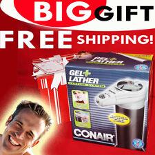 Gel Lather Heating System Shaving Cream Warmer Heater Dispenser Warm Men Barber