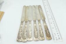 Fine Set Fontainebleau Tea/Dessert Knives  Gorham ca-1880  GUC ** RARE  **925