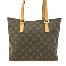 100% Authentic Louis Vuitton Monogram Cabas Piano Shoulder Tote Bag /40560