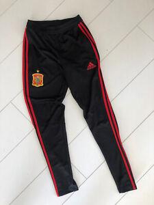 Adidas Climacool Tracksuit Pants Black Spanish Team Edition Size X S