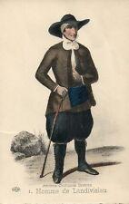 1 Homme de Landivisiau Anciens Costumes Bretons French France Folklore Fashion