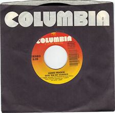 FRICKIE, Janie  (Give 'Em My Number)  Columbia 38-69057