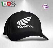Cappello Berretto Hat Cappellino Houston 5 pannelli NERO - HONDA