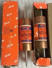 Lot Of 2, Amp-trap Dual Element Time Delay, A2D400R, 400A, Shipsameday#1218K