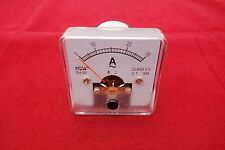 AC 30A Analog Ammeter Panel AMP Current Meter 50*50mm 0-30A directly Connect