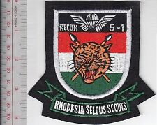 Rhodesia Defence Force RDF Army Selous Scouts RECON 51 Commando Airborne 1971
