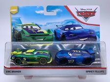 Disney Pixar Cars Diecast Rare Eric Braker & Spikey Fillups Next-Gen Piston Cup