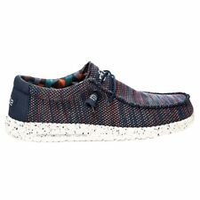 Hey Dude Scarpe Uomo Sneakers Wally Sox Blue Orange Primavera / Estate