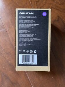 DYSON AIRWRAP HAIR STYLER Firm Smoothing Brush Attachment In Purple FSB NIB