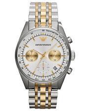 Emporio Armani Sportivo Watch Silver/Gold Quartz Analog Men's Watch AR6116