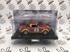 """Die Cast """" Fiat 124 Abarth Spider Pinto Rally Portugal 1974 """" 1/24"""