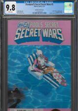 Deadpool's Secret Wars 2 1st Gwenpool CGC 9.8 Marvel Bachalo Variant 2015