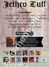 Jethro Tull Aqualung 25th Anniversary LP Tour Advert