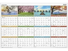 At A Glance 2022 24 X 36 Yearly Calendar Seasons In Bloom Multicolor Pa133 22
