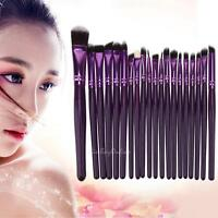 20pc Makeup Brushes Set Powder Foundation Eyeshadow Facial Blusher Cosmetic Tool