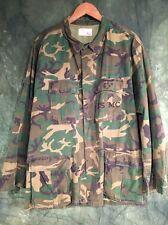 "VINTAGE USMC ERDL Camuffamento BDU SHIRT/Jacket L/XL 48"""