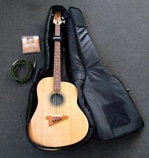 """Leo Burrell """"Fat Boy"""" Acoustic Bass Guitar with Electronic pickups Sn#Fb001"""