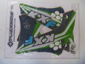 kawaski kx450f 2009 to 2011 sticker kit decal kit flu designs