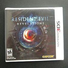 Resident Evil Revelations (Nintendo 3DS, 2012) Factory Sealed!!! Misprint Spine!