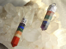 Seven Chakra Pencil pendant